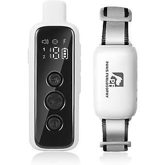 With Remote Control Dog Training Collar, No Shock Dog Collar, 1000 Feet Remote Control Dog E Collar, 3 Training Modes, Suitable For Small, Medium And
