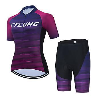 Cycling Jersey Pro Team Summer Short Sleeve Woman Bike Shirt