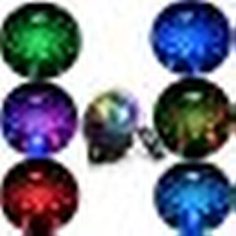 Stage Lighting Party Lamp, Mini Projector Scene Spotlight Led Bulb Crystal Ball Sound Controlled Party Dj