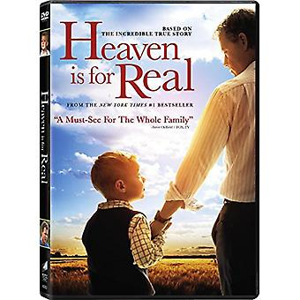 Heaven Is for Real [DVD] USA import