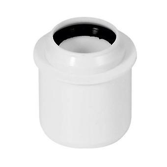 Kort minskning Connector Pipe 50mm till 32mm avlopps systeminstallation