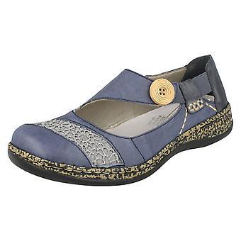 Sapatos de senhoras Rieker Casual plana 46324