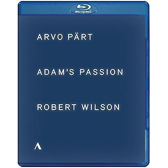Adam's passie [Blu-ray] USA import