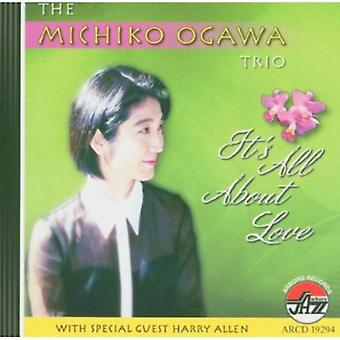Michiko Ogawa Trio - It's All About Love [CD] USA import