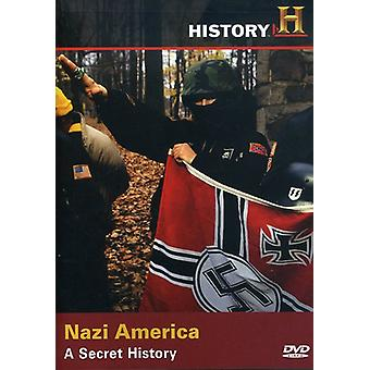 Nazi America-Secret History [DVD] USA import