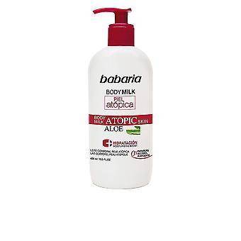 Babaria Piel Atopica Aloe Vera Tělové mléko 0% 400 Ml Unisex