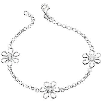 925 silver blomma armband