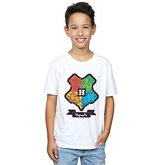 Harry Potter Boys Hogwarts Junior Crest T-Shirt