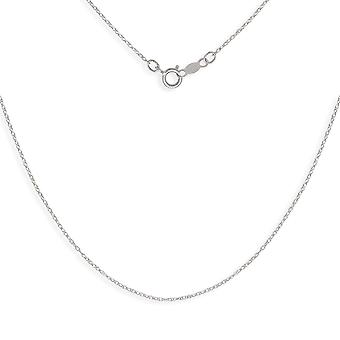 14k White Gold Rope Chain for boys or girls Pendant Necklace - 15 Inch