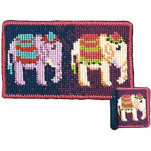 Elephants Tapisserie Kit