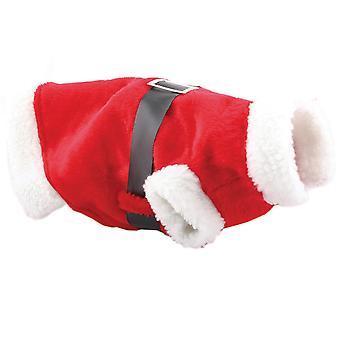 Рождественский магазин собак Санта костюм