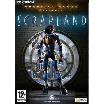 American McGee Presents Scrapland (Pc CD) - Factory Sealed