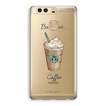 Huawei P9 gjennomsiktig sak (myk) - men første kaffe