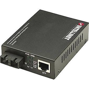 Intellinet 506502 LAN، SC دوبلكدوبل شبكة محول الوسائط 100 ميغابت في الثانية