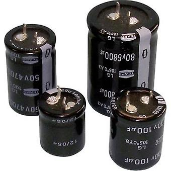 Teapo SLG227M400S1A5S30K Electrolytic capacitor Snap-in 10 mm 220 µF 400 V 20 % (Ø x H) 30 mm x 30 mm 1 pc(s)