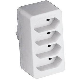 GAO 0130 4x Sockelsplitter Weiß
