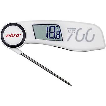 ebro TLC 700 Probe thermometer (HACCP) Temperature reading range -30 up to +220 °C Sensor type NTC Complies with HACCP standards
