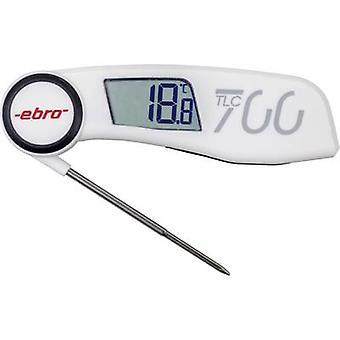 E700 bro (HACCP) teploměr pro měření teploty Teplotní rozsah-30 až + 220 °C typ senzoru NTC odpovídá normám HACCP