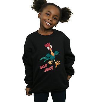 Disney flickor Moana båt mellanmål Sweatshirt