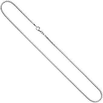 Halskette silber Echtschmuck Venezianerkette ROSSI 42 cm