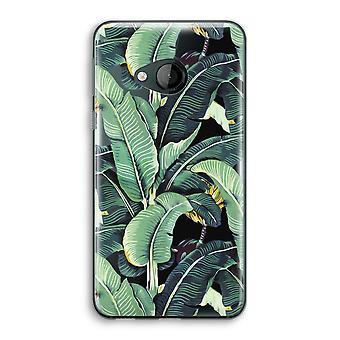 HTC U spelen transparant Case (Soft) - bananenbladeren