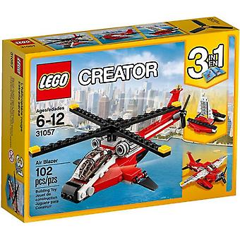 Hélicoptère 31057 LEGO rouge
