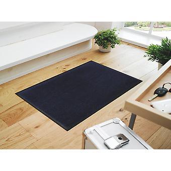 wash + dry doormat-Navy - Navy Blue