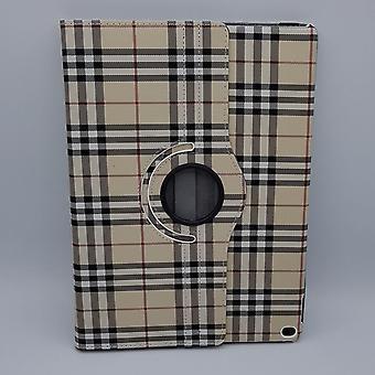 Pour iPad Pro 10,5 pouces cas/manchon-damier-jaune