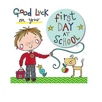 Rachel Ellen Good Luck At School Card