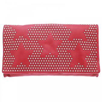 Abro Star Studded Pouch Style Clutch Bag