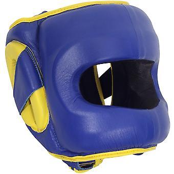 الوجه ديلوكس منصة التوقف الملاكمة القبعات--الأزرق
