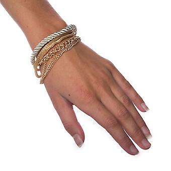 Armband gelaagde-zilver