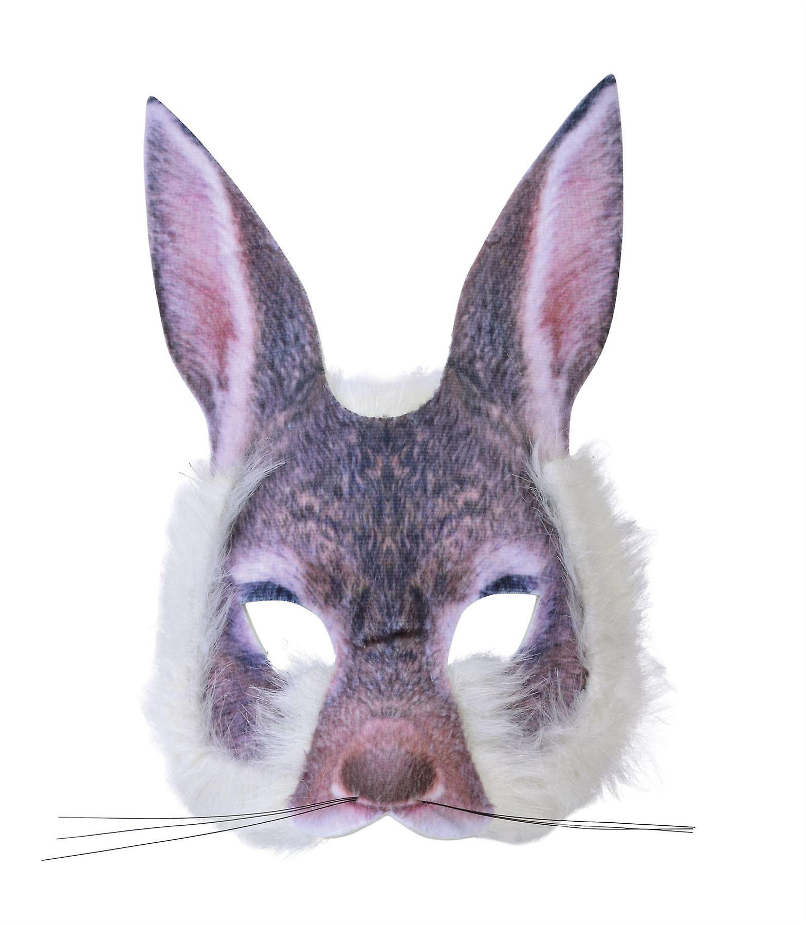 الأرنب الوجه قناع الفراء واقعية