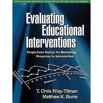 Évaluation des Interventions éducatives - conception de cas isolés pour doseurs