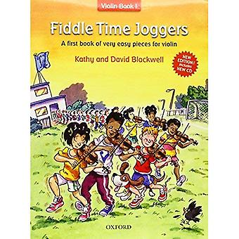 Fiddle Time Joggers + CD, édition révisée: un premier livre de pièces très faciles pour violon