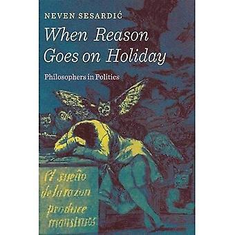Cuando la razón va de vacaciones: filósofos en la política