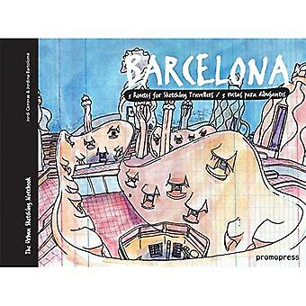 Barcelona: Five Routes for Sketching Travelers (Urban Sketchers Pads)