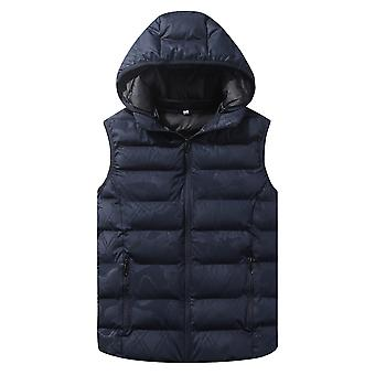 Cloudstyle Men's Padded Vest Camouflage Hooded Quilted Vest