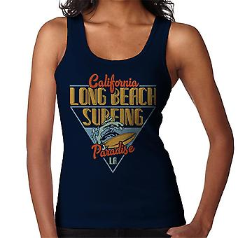 California Long Beach Surfing Paradise LA Women's Vest