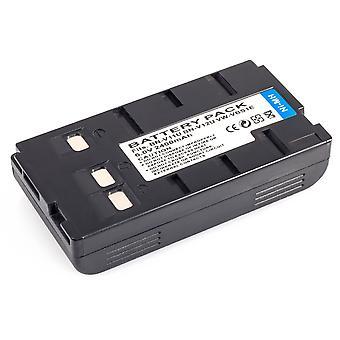 Slim Battery for JVC Camcorder BN-V11U BN-V12U BN-V14U BN-V18U BN-V20U BN-V22U BN-V24U BN-V25U BN-V400U BN-V50U