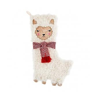 Sass and Belle Cute Llama Stocking