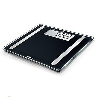 Digital badeværelse skalaer Soehnle 63857 figur Sense kontrol 100 sort
