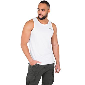 Alpha industries men's tank top small logo