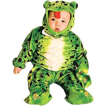 緑のカエル幼児用コスチューム