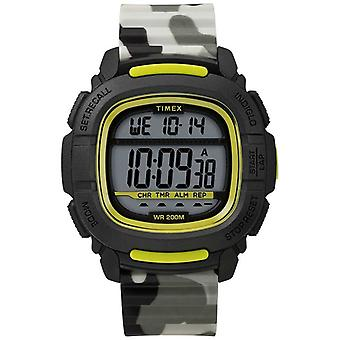 Timex | Spinta Shock Nero/Lime/Camo digitale | TW5M26600SU orologio