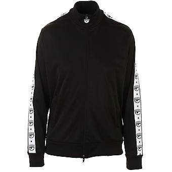 Chiara Ferragni Cff067 Women's Black Polyester Sweatshirt
