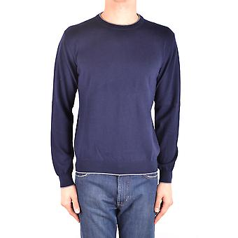 Altea Ezbc048109 Men's Blue Cotton Sweater