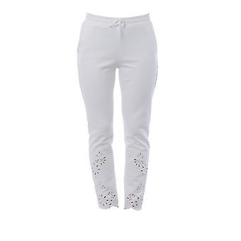Ermanno Scervino D342p309tgn10601 Women's White Cotton Pants