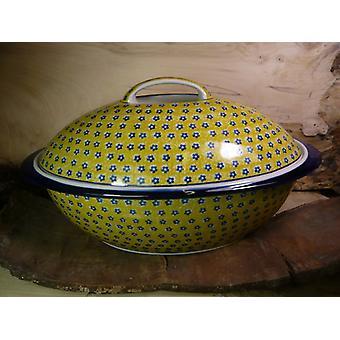 Bread bowl, 42 x 25 x 22 cm, tradition 20, Upper Lusatia ceramic - BSN 7166