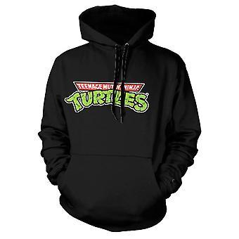 Teenage Mutant Ninja Turtles Classic Logo Black Hoodie